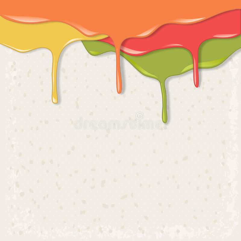 Download Paint dripping stock vector. Image of grunge, clean, artistic - 29314917