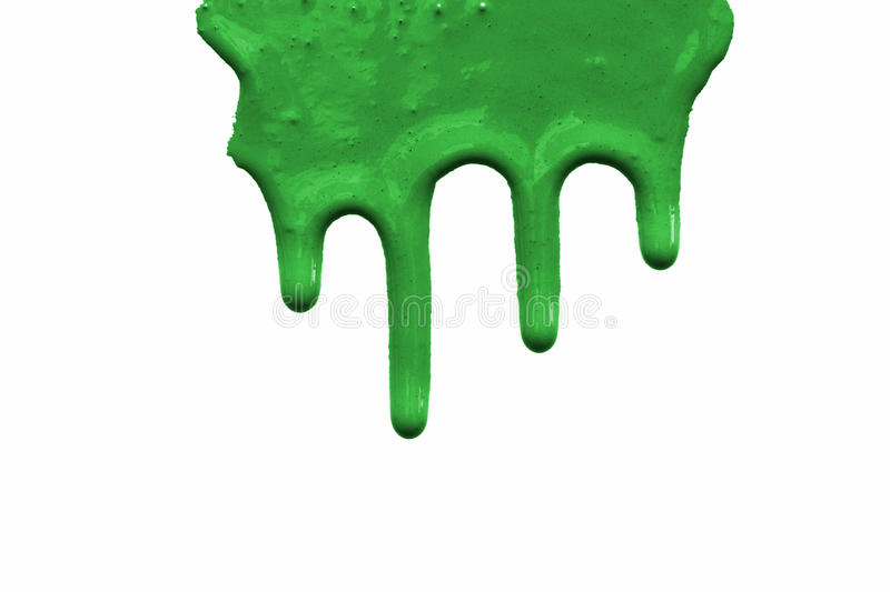 Paint Drips Royalty Free Stock Photography