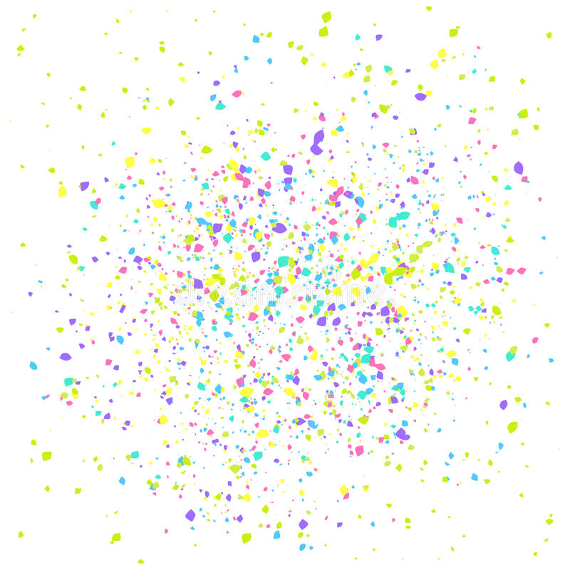 Paint drops abstract texture. royalty free illustration