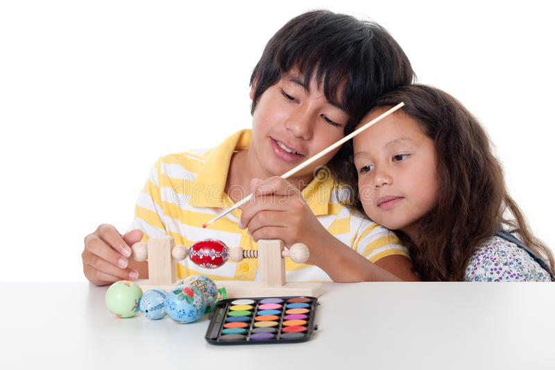 Download Paint easter egg stock image. Image of time, teenager - 16107569