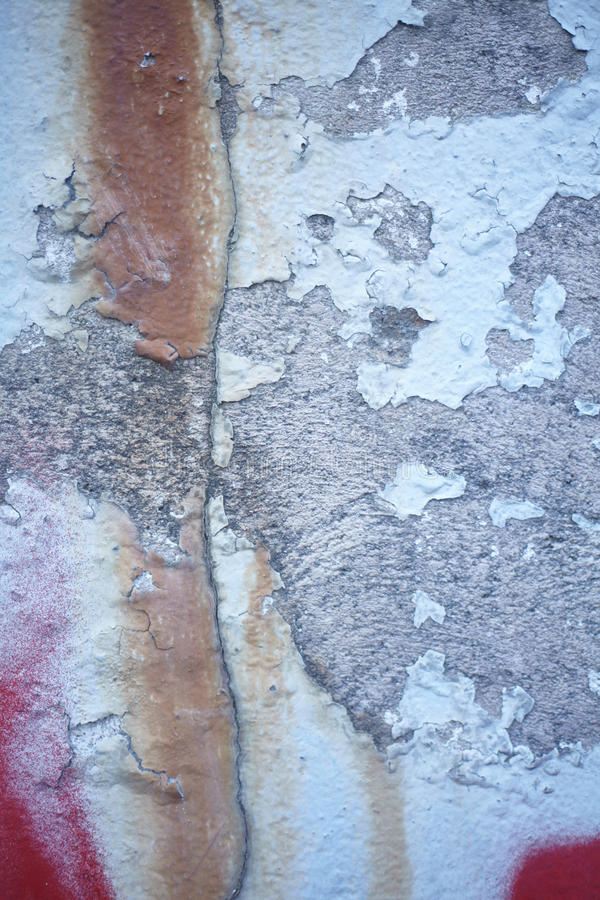 Paint Flaking And Wall Texture royalty free stock photos