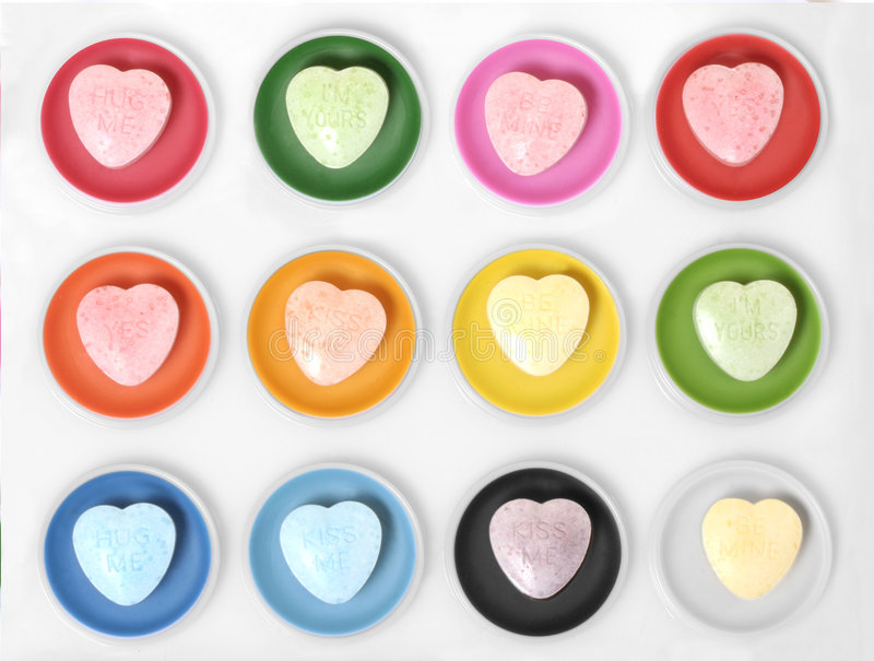 Paint heart watercolor royalty free stock photos