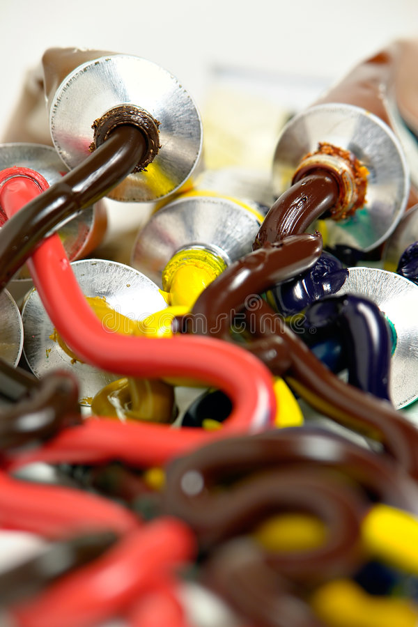 Download Paint Mess Royalty Free Stock Photos - Image: 1086538