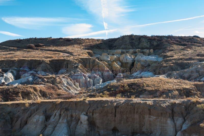 Paint Mines royalty free stock photo