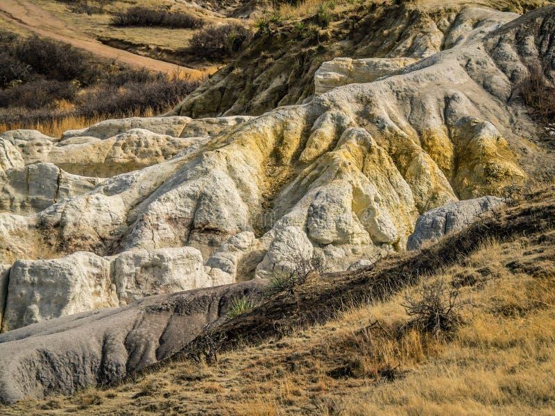 Paint Mines near Calhan, Colorado, El Paso County stock photography