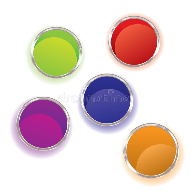 Paint Pots Royalty Free Stock Image