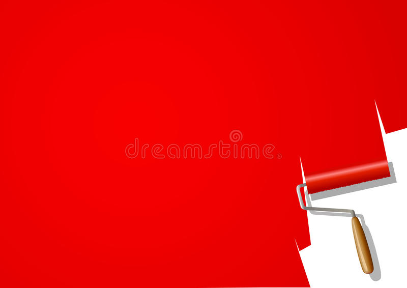 Download Paint roller stock vector. Illustration of paint, brush - 28624171