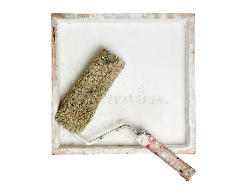 Paint Roller In A Box Royalty Free Stock Photo