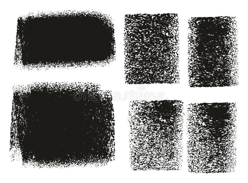 Paint Roller Rough BackgroundsPaint Roller Rough Backgrounds. This image is a vector illustration and can be scaled to any size without loss of resolution royalty free illustration