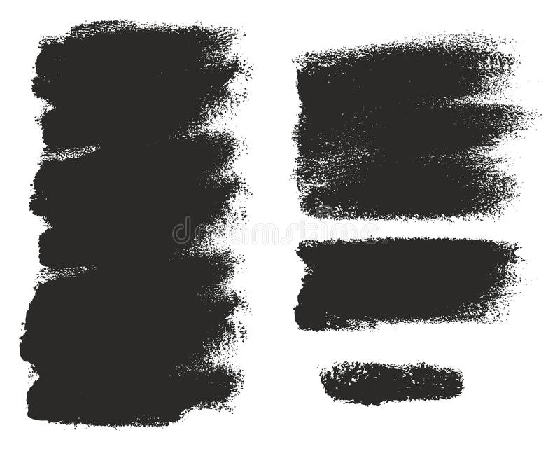 Paint Roller Strokes Vector Patterns & Vector Backgrounds Set 14. This image is a illustration and can be scaled to any size without loss of resolution royalty free illustration