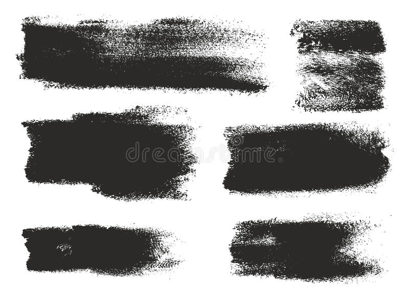 Paint Roller Strokes Vector Patterns & Vector Backgrounds Set 13. This image is a illustration and can be scaled to any size without loss of resolution royalty free illustration