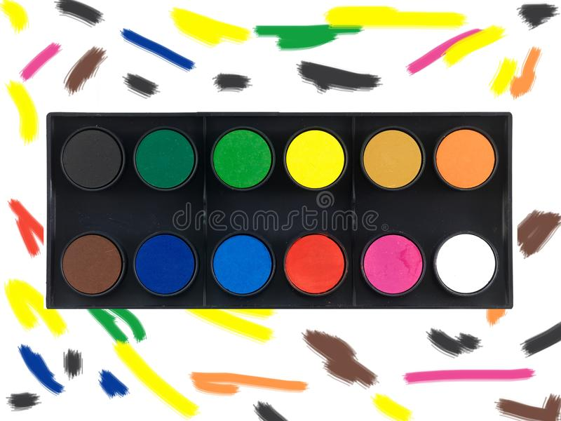 Download Paint Set Stock Images - Image: 19186924