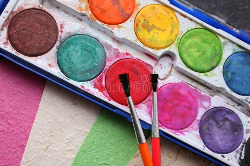 Paint Set stock images