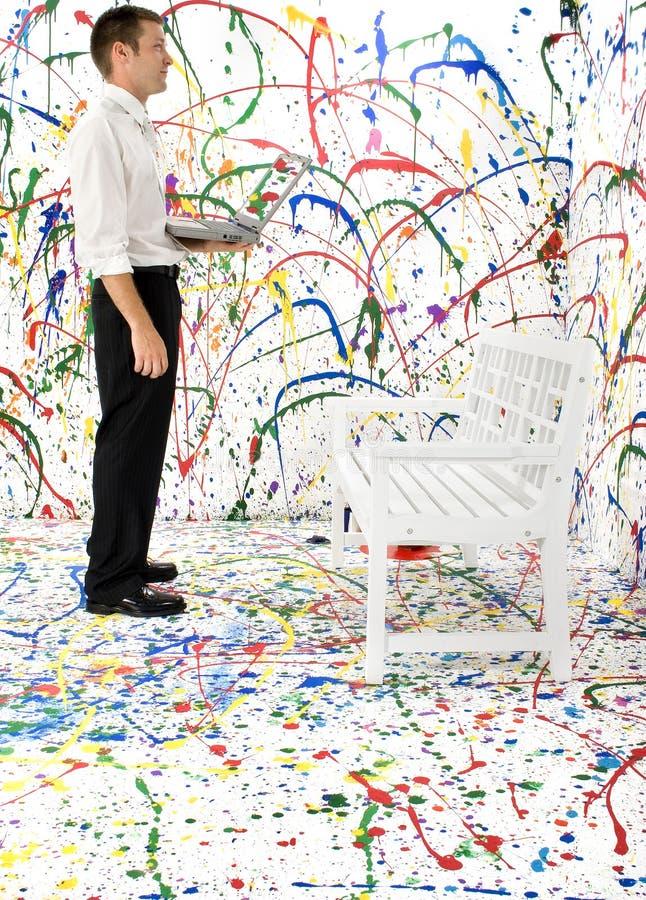 paint splash στοκ εικόνες με δικαίωμα ελεύθερης χρήσης