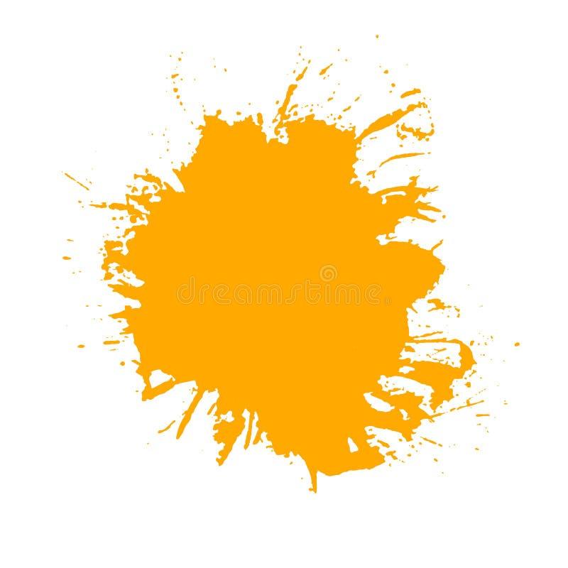 paint splash vector of brush strokes stock illustration rh dreamstime com paint splash vector brush photoshop paint splash vector png