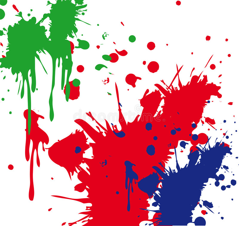 Paint Splatter vector illustration