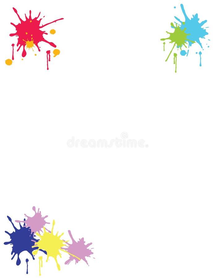 Download Paint Splatter stock image. Image of splatter, yellow - 36513591