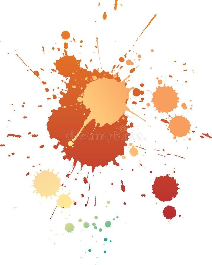 Paint Splatters Royalty Free Stock Photos