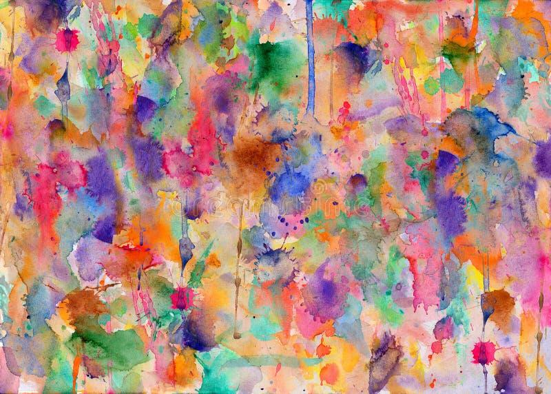 Paint splatters on paper. Blobs vector illustration