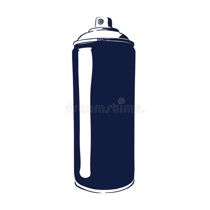 paint spray can stock vector illustration of equipment 94531786 rh dreamstime com spray can splash vector spray can vector free download