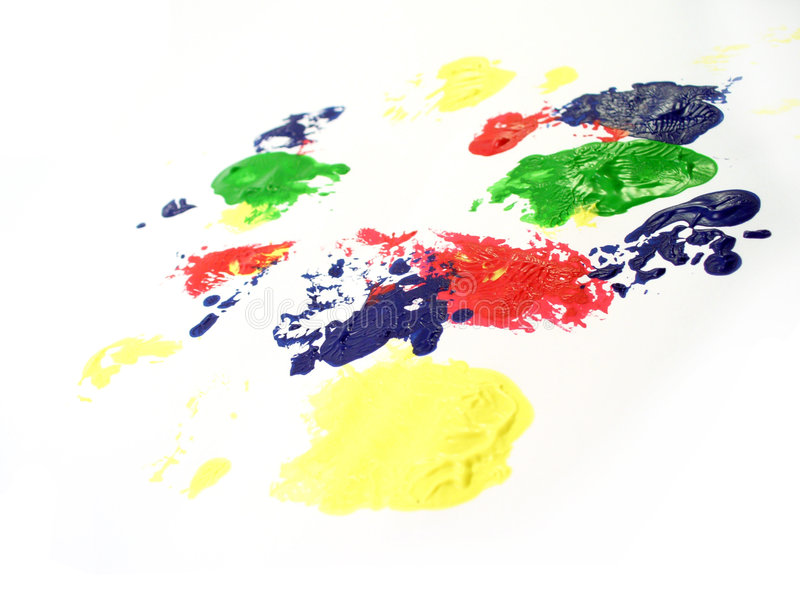 Download Paint staines stock photo. Image of tempera, green, blue - 869364