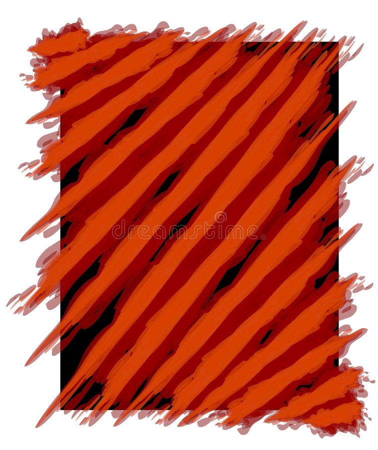 Paint Stripes Background Red vector illustration