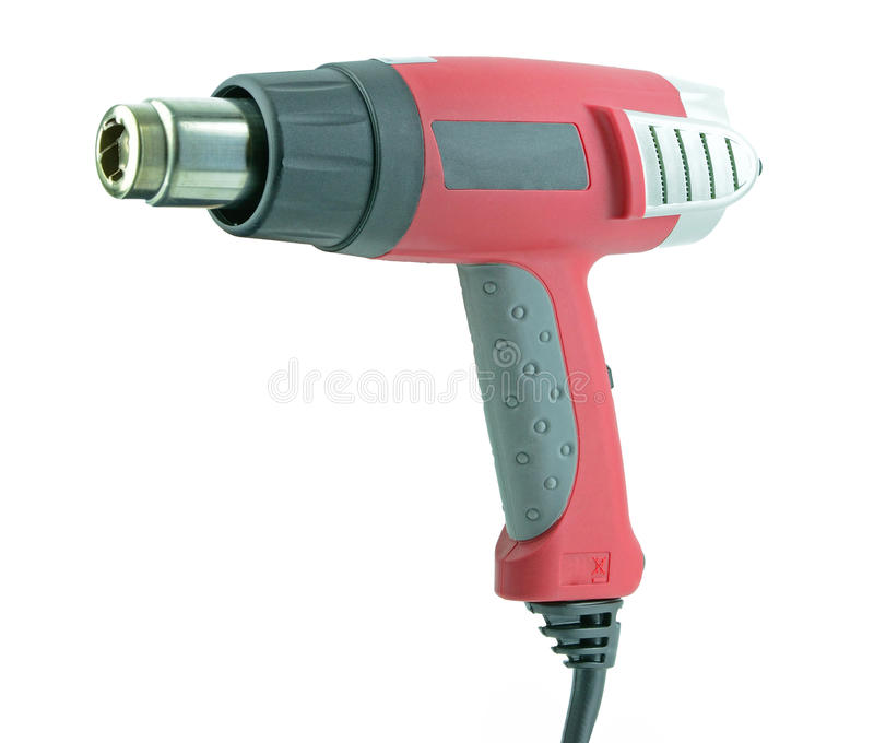 Paint stripper heat gun stock image