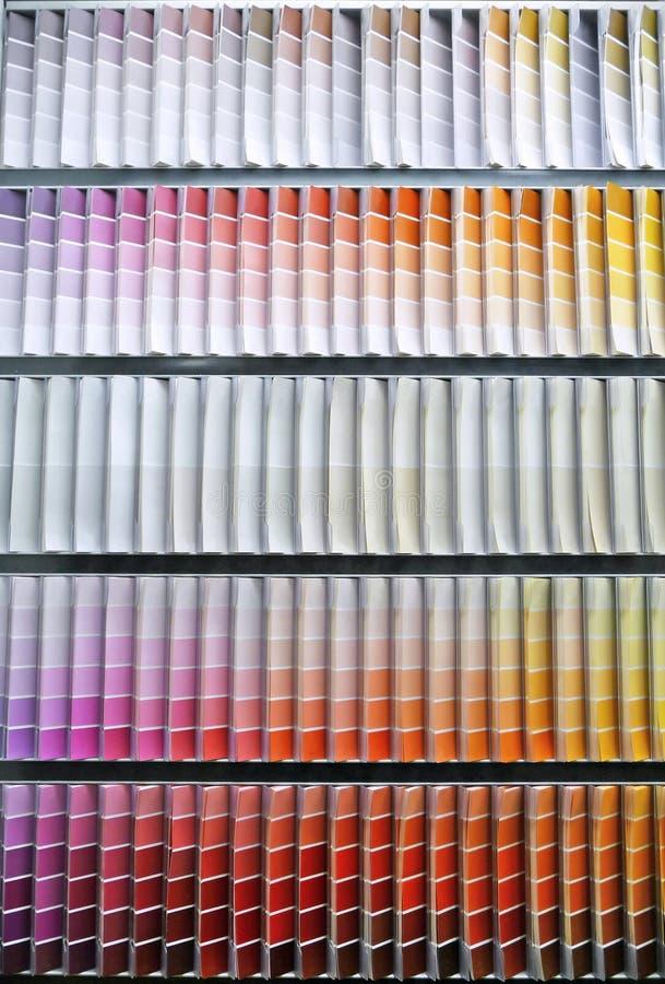 Download Paint Swatch Color Spectrum Stock Image - Image: 12990465