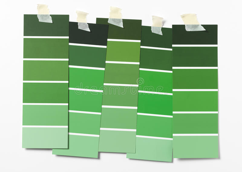 Paint Swatch stock photos