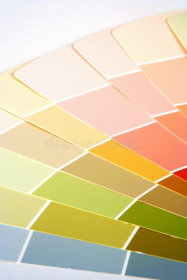 Paint Swatches royalty free stock photo