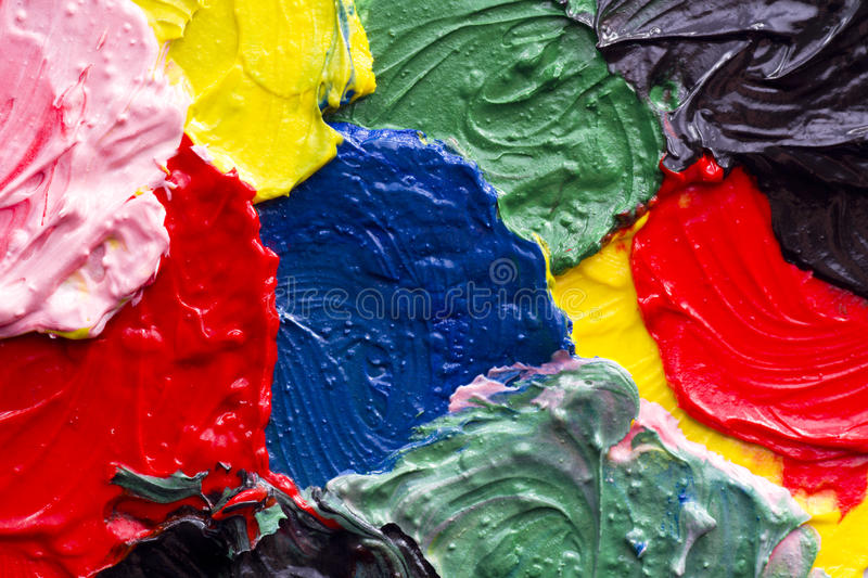 Paint texture. Abstract acrylic of painted background royalty free stock images