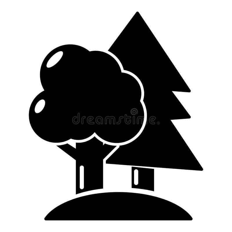 Paintball śródpolna ikona, prosty styl ilustracji