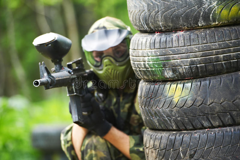Paintball imagem de stock royalty free