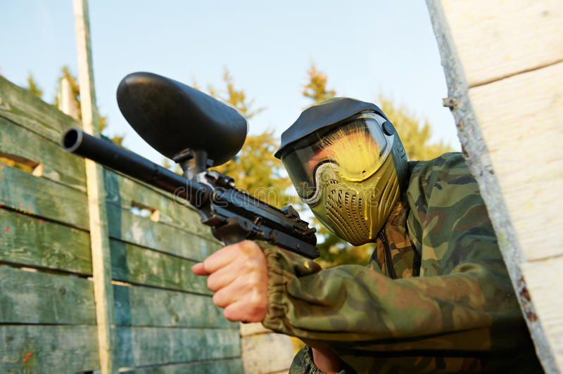 Paintball foto de stock royalty free