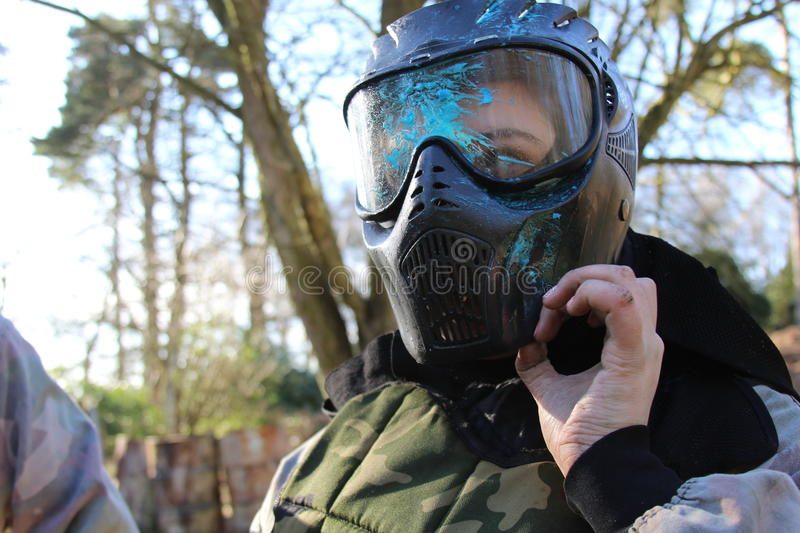 paintball images stock