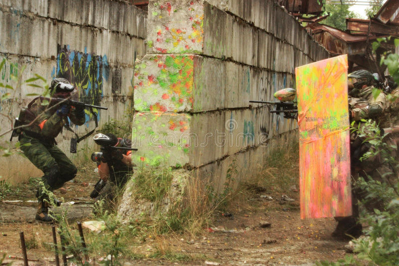 Paintball obraz stock