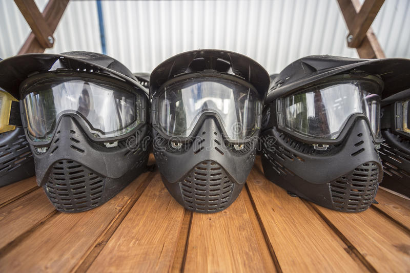 Paintball da ação foto de stock royalty free