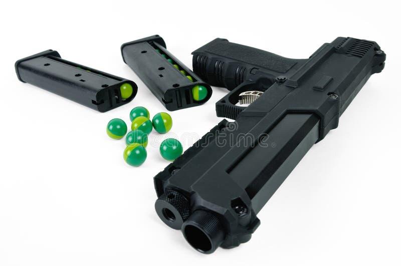 Paintball gun royalty free stock image