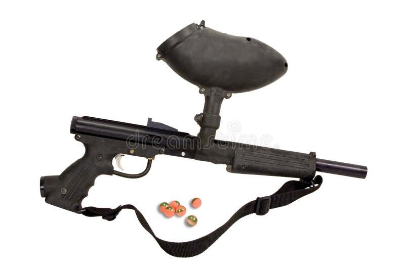 Paintball Gun - Recreation stock images