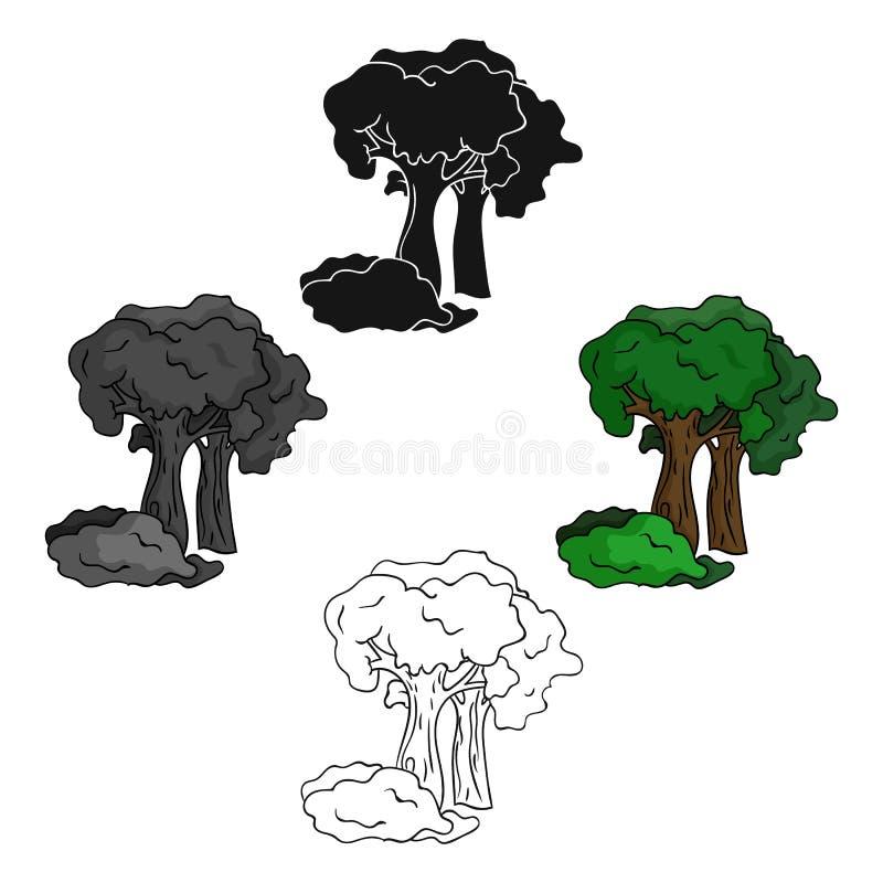Paintball plac zabaw ikona w kreskówce, czerń styl odizolowywający na białym tle Paintball symbolu zapasu wektor royalty ilustracja