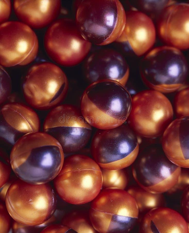 Paintballs royalty-vrije stock foto's
