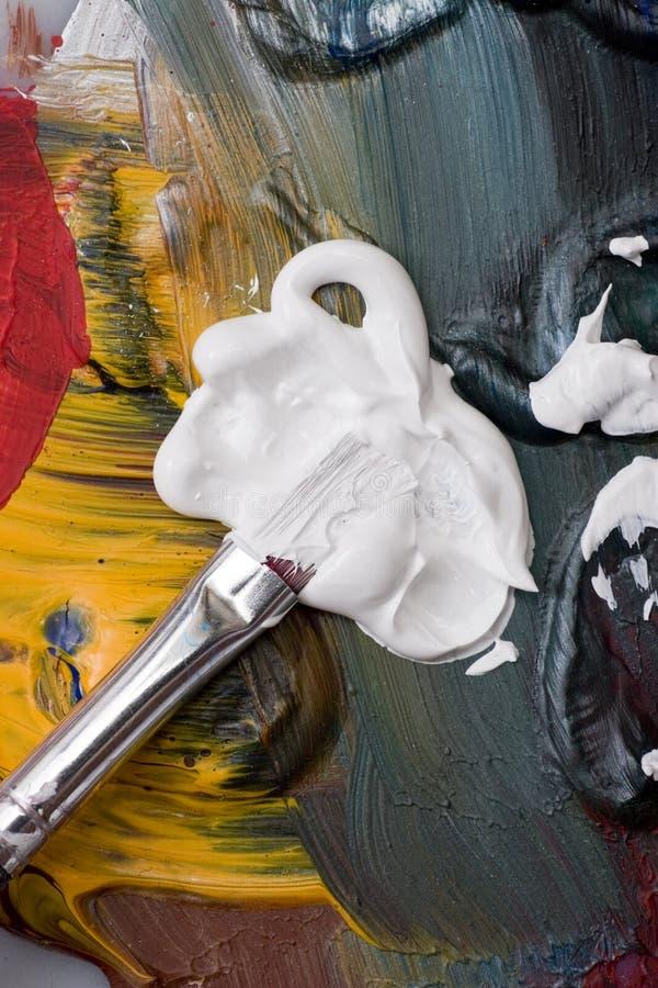 paintbrush fotografering för bildbyråer