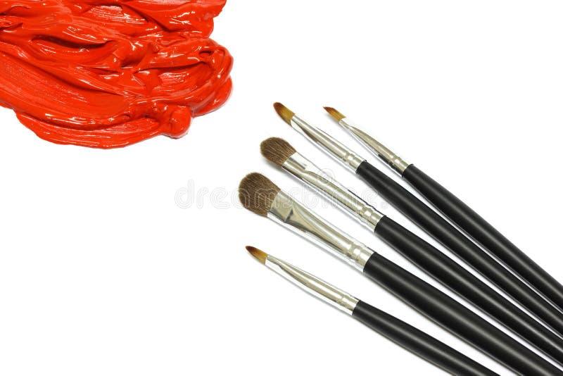 Download Paintbrush fotografering för bildbyråer. Bild av många - 19793623
