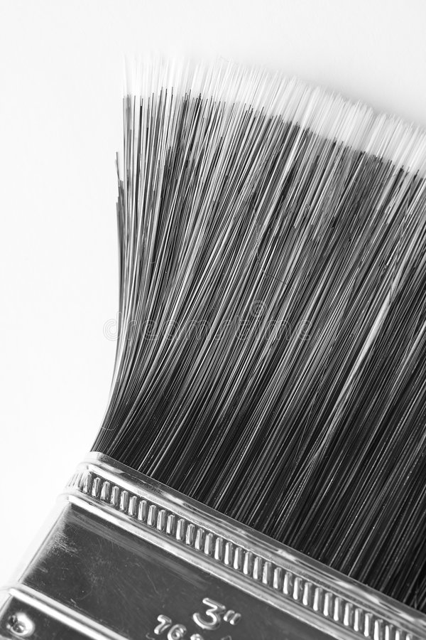 paintbrush royaltyfri fotografi