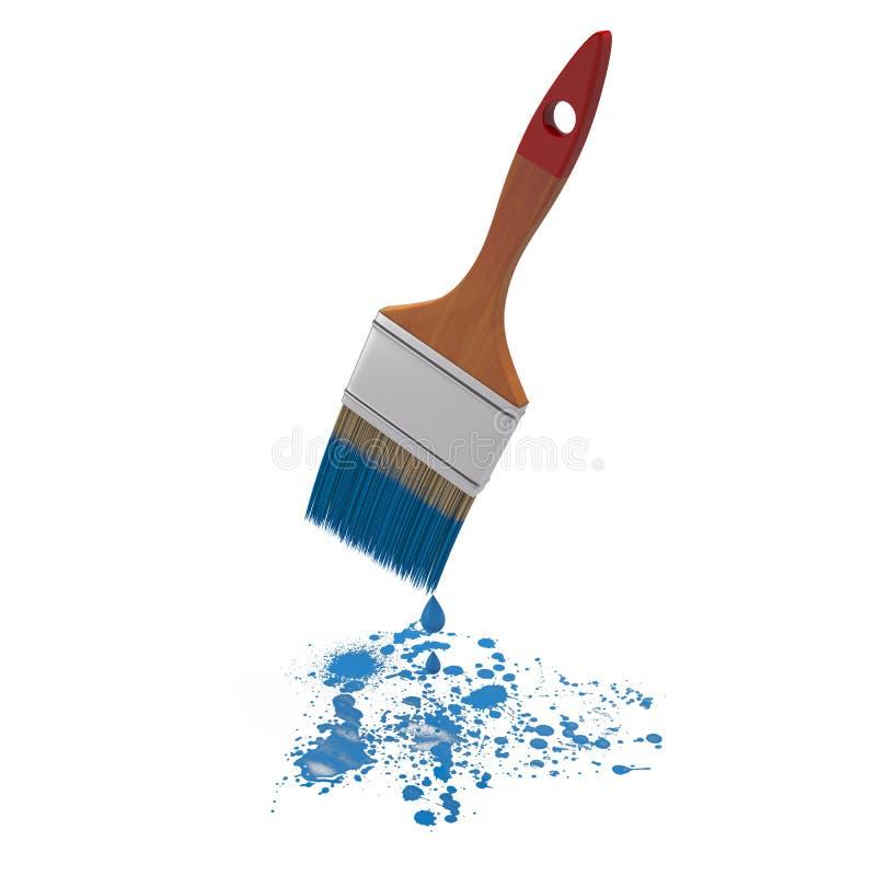 Free Paintbrush And Paint Splash Stock Photography - 30982992