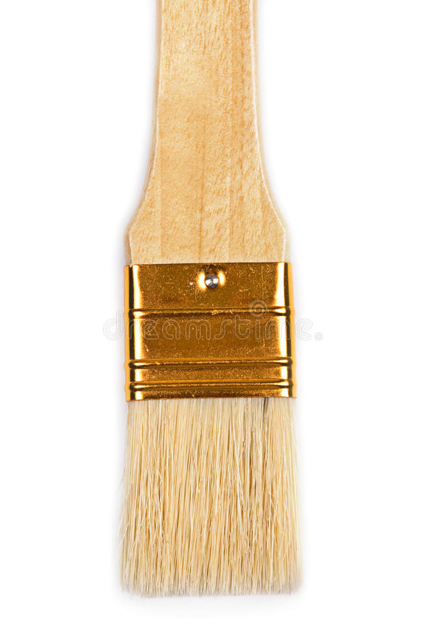 Download Paintbrush closeup. stock photo. Image of abstract, design - 15438614