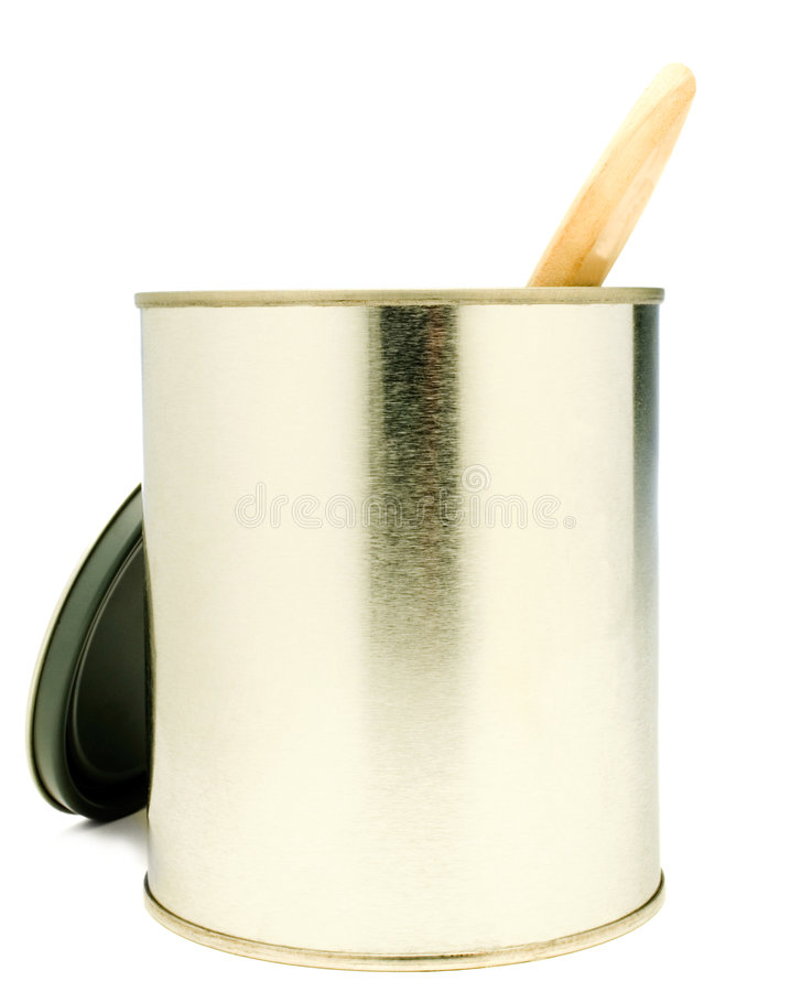 Paintbrush In A Paint Can Royalty Free Stock Image