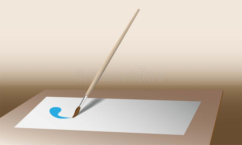 Download Paintbrush stock vector. Image of image, thing, light - 33990683