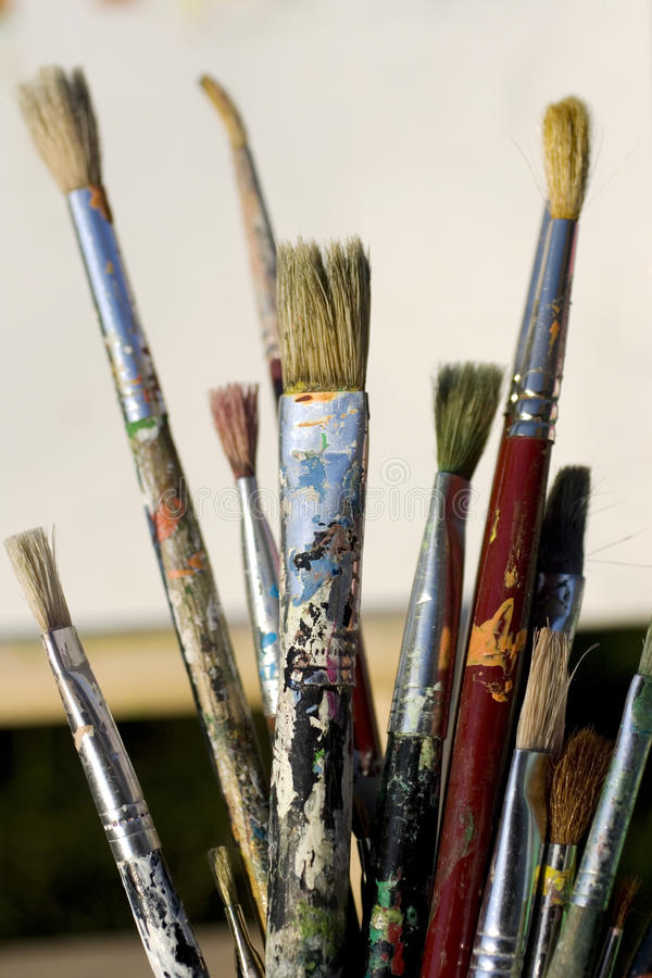 Download Paintbrushes stock photo. Image of fine, paints, colors - 11350900