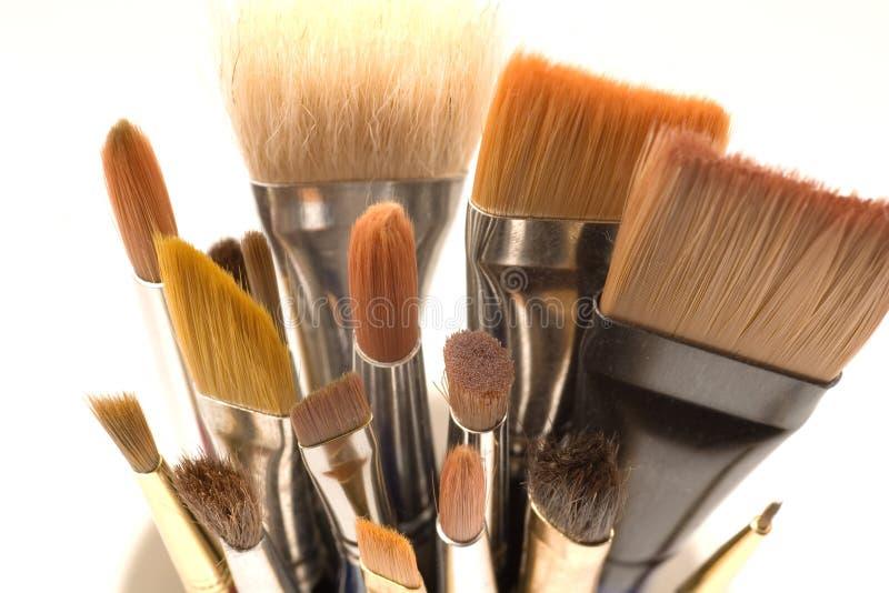 paintbrushes стоковые фото